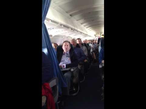 Mormon Tabernacle Choir on Delta flight