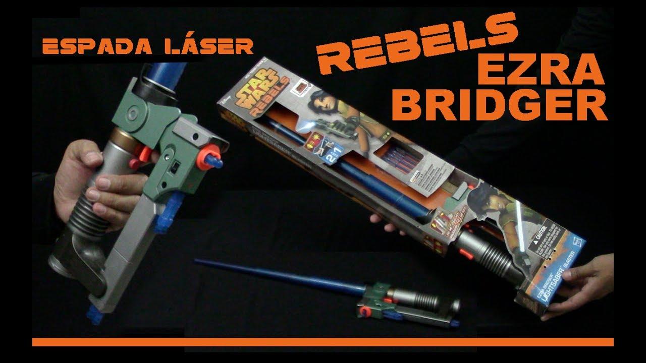 Rebels Espada Español Star Láser Ezra Hasbro Bridger Wars ZTOPikuX