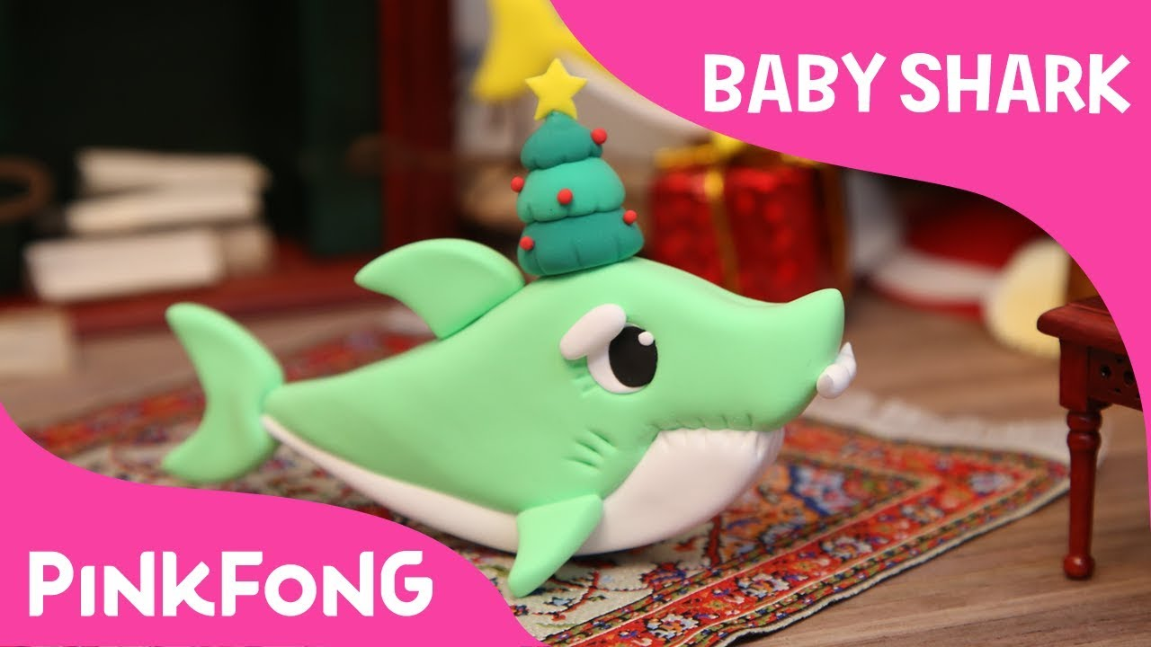 How to make a Clay Grandpa Shark | Pinkfong Clay | Baby Shark | Pinkfong Songs for Children