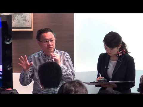 SCEワールドワイドスタジオ プレジデント 吉田修平による「PlayStation®4トークイベント」