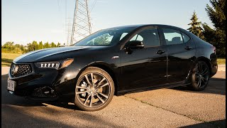 Modern Mississauga Media reviews the 2018 Acura TLX A-Spec
