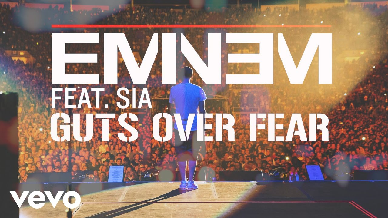 ultratop be - Eminem feat  Sia - Guts Over Fear