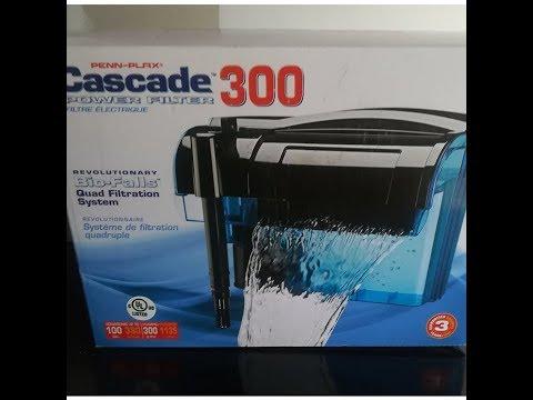 CASCADE 300 PENN-PLAX FILTRO EXTERNO UNBOXING