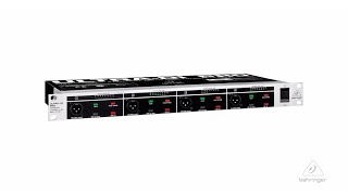 ULTRA-DI PRO DI4000 Professional 4-Channel Active DI-Box