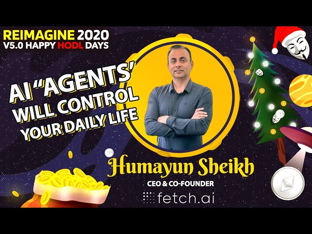 Humayun Sheikh - Fetch.ai - AI Personal Butler For Everyone
