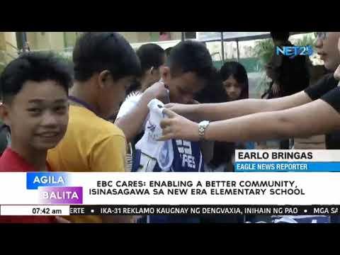 EBC Cares: Enabling A Better Community, isinasagawa sa New Era Elementary School