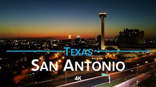 San Antonio - Texas, USA 🇺🇸 | 4K drone footage