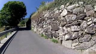 80 Minute Uphill Cycling Training Workout Alps Italy Full HD