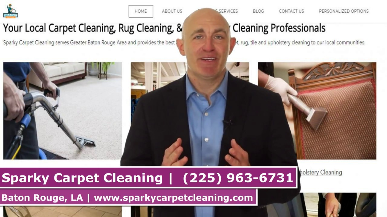 Carpet Cleaning Baton Rouge By Sparky Carpet Cleaning Youtube