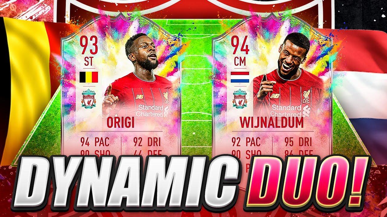94 WIJNALDUM & 93 ORIGI! DYNAMIC DUO SBC! FIFA 20