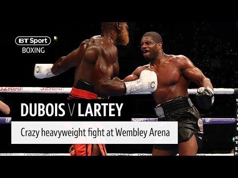 Crazy heavyweight war! Daniel Dubois v Richard Lartey full fight from YouTube · Duration:  19 minutes 17 seconds