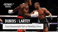 Crazy heavyweight war! Daniel Dubois v Richard Lartey full fight