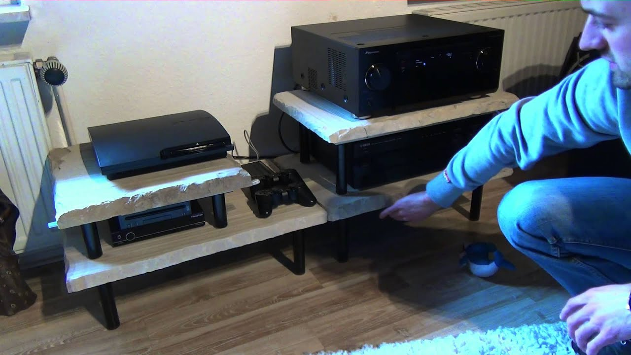 wohnkino hifi rack heimkino youtube. Black Bedroom Furniture Sets. Home Design Ideas