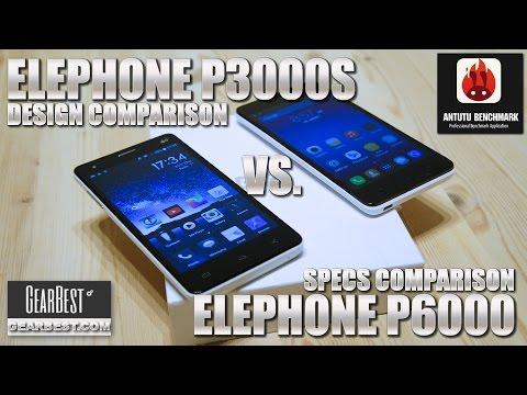 Elephone P3000S vs. P6000 [COMPARISON] OTG Test! Antutu Benchmark, Design & Camera Comparison
