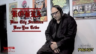 Kobra - Blue City Strutters/Boo-Yaa Tribe (Interview Part 1)