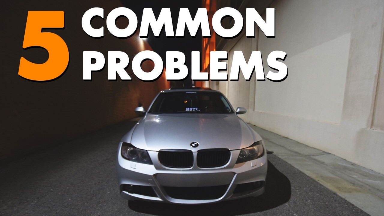 2009 bmw 335i xdrive common problems