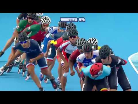 World Games 2017 - Speed Skating - Final - Men 15.000M ELIMINATION