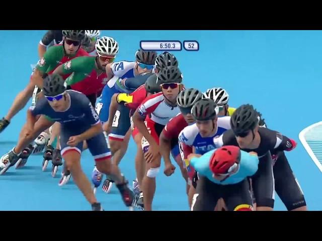 World Games 2017 - Speed Skating - Final - Men 15.000M ELIMINATION