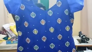 Ladies Kameez Cutting and Stitching in Professional Style 2017