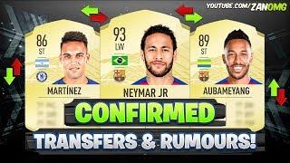 FIFA 21 | NEW CONFIRMED TRANSFERS & RUMOURS!! ✅🔥 | FT. AUBAMEYANG, NEYMAR...etc