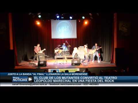 El Club de los Mutantes llenó de rock al teatro Leopoldo Marechal   Tema 5