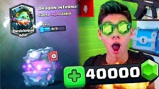 ¡Me REGALAN 40,000 GEMAS y el DRAGÓN INFERNAL!? [ANTRAX] ☣ thumbnail