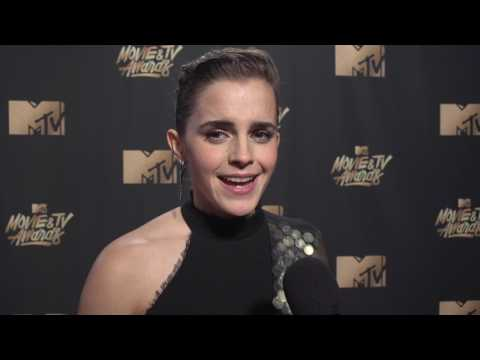 Emma Watson Interview MTV Movie And TV Awards 2017
