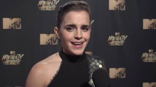 Emma Watson interview MTV Movie and TV Awards 2017