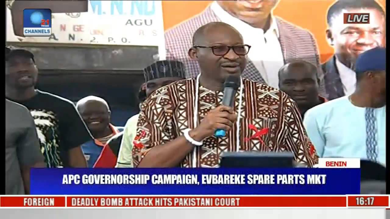 Download Laughter As Obahiagbon Introduces APC Governorship Candidate In Edo