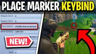 *NEW* PLACE MARKER KEYBIND (Fortnite Tips and Tricks)