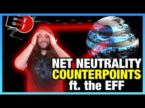 Net Neutrality Counterpoints Addressed by the EFF (Interview)