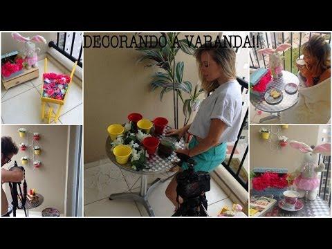 Decore sua casa varanda pequena youtube for Como se decora una cocina pequena