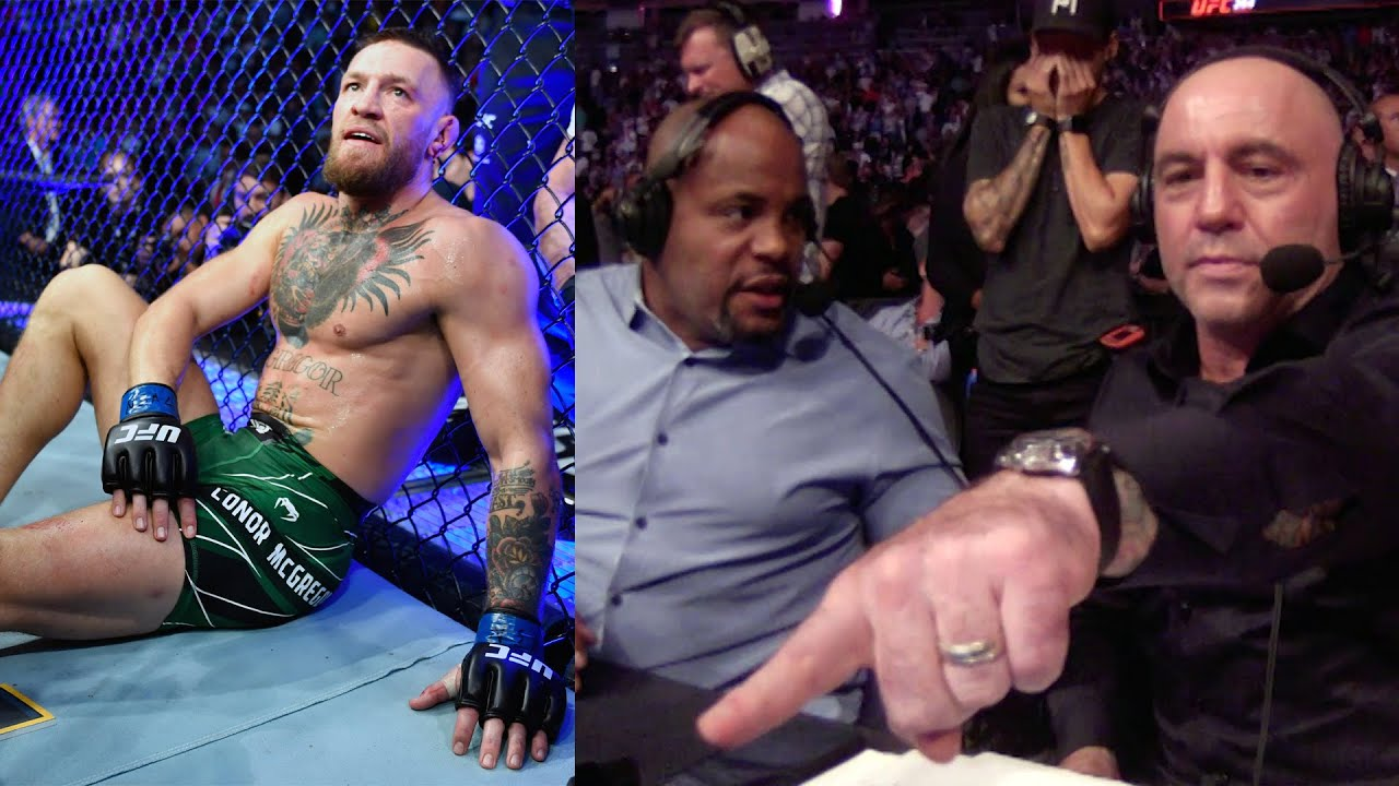 UFC 264 Commentator Booth Reactions