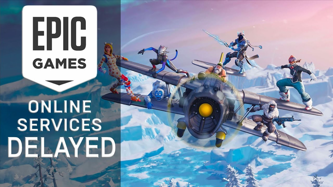 Epic Games Online Services Delayed