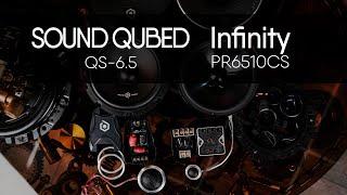 Infinity PR6510cs vs SOUND QUBED QS-6.5