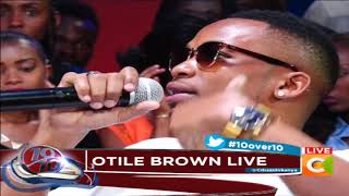 If Bahati want good songs, I offer to help - Otile Brown #10Over10