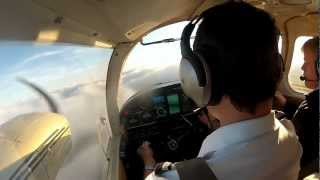 Piper Seneca PA-34-200 Maneuvers @ PEA