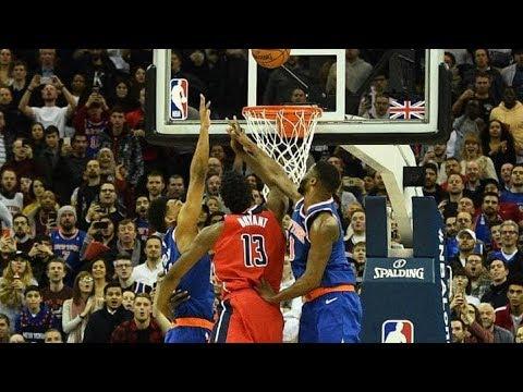Thomas Bryant Game Winner Goaltend! NBA London 2019 Knicks vs Wizards