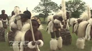 African tribe dances to hardcore