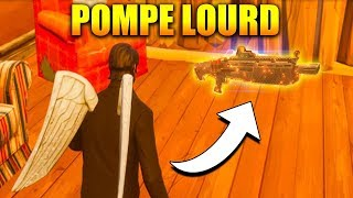 ON TEST LE NOUVEAU POMPE LOURD sur FORTNITE Battle Royale !