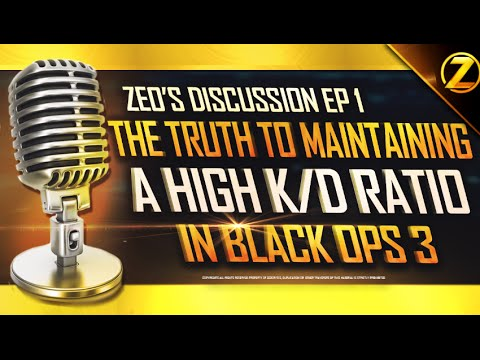 """THE TRUTH TO MAINTAINING A HIGH K/D RATIO """"ZEO'S DISCUSSION EP 1"""" BO3 49 -1 GAMEPLAY/w Commentary"""