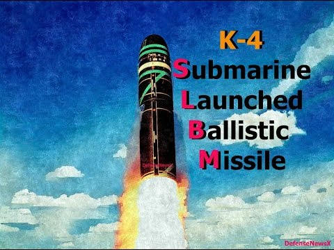 K-4 is a nuclear capable Intermediate-range submarine-launched ballistic missile