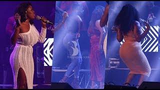 Moesha Boduong Princess Shyngle Nana Aba Anamoah Dancing Competition At 2018 Rapperholic