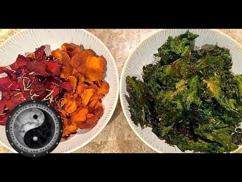 How To Make Kale Chips, Beet Chips & Sweet Potato Chips Healthy Recipes