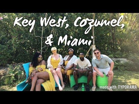 1st Vlog!!! Spring Break Vlog 2k18: Cruise, Key West, Cozumel, & Miami