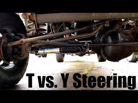 2nd Gen Cummins Y steering vs T steering (4th Gen steering upgrade)