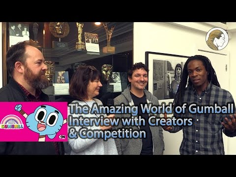 The Amazing World of Gumball Interview with Creators