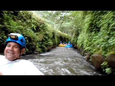 Sugar Cane Irrigation Canal Tubing - Kauai, HI