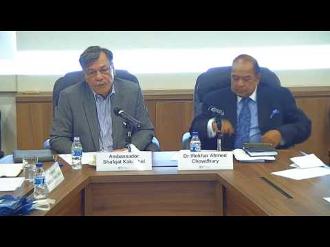 Climate Change : Cooperation Among South Asian States (13 Feb 2017)
