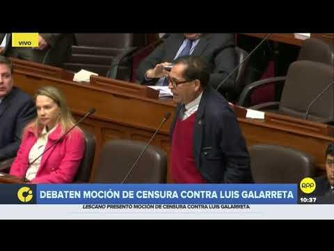 """Yonhy Lescano culpó al fujimorismo del """"desprestigio que tiene el Congreso"""""""